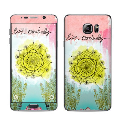 Samsung Galaxy Note 5 Skin - Live Creative