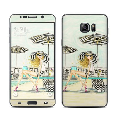 Samsung Galaxy Note 5 Skin - Luxe Retreat Poolside