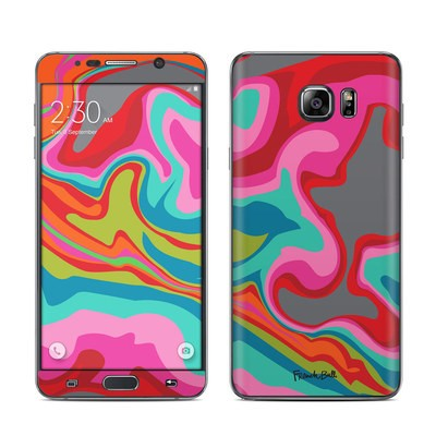 Samsung Galaxy Note 5 Skin - Marble Bright