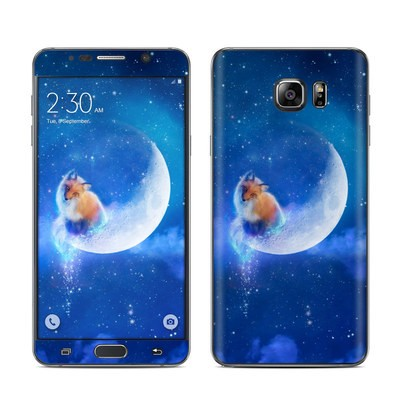 Samsung Galaxy Note 5 Skin - Moon Fox
