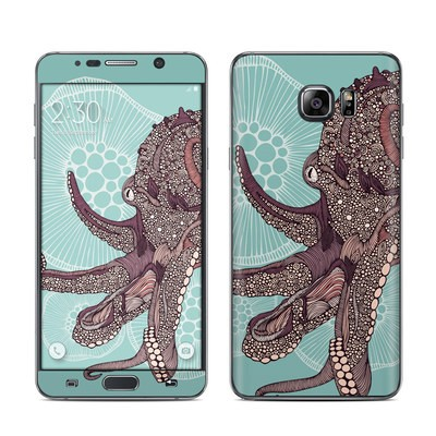 Samsung Galaxy Note 5 Skin - Octopus Bloom