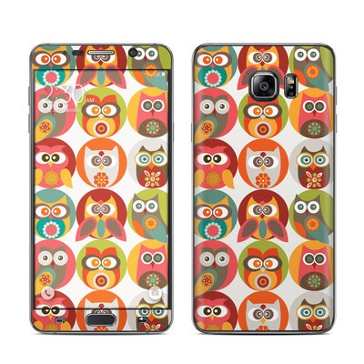 Samsung Galaxy Note 5 Skin - Owls Family