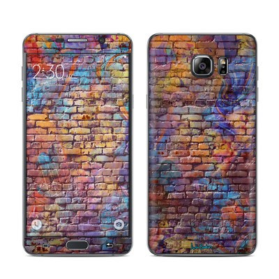 Samsung Galaxy Note 5 Skin - Painted Brick