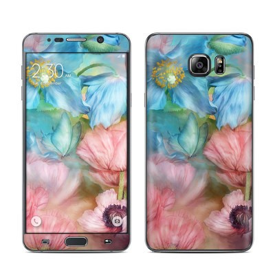 Samsung Galaxy Note 5 Skin - Poppy Garden