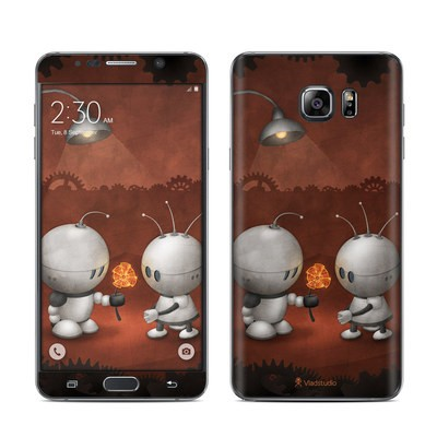 Samsung Galaxy Note 5 Skin - Robots In Love