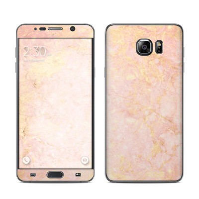 Samsung Galaxy Note 5 Skin - Rose Gold Marble