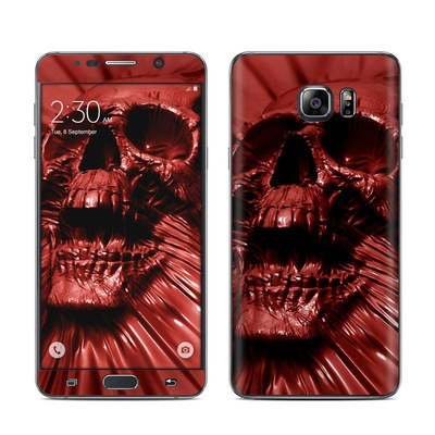 Samsung Galaxy Note 5 Skin - Skull Blood