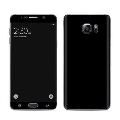 Samsung Galaxy Note 5 Skin - Solid State Black