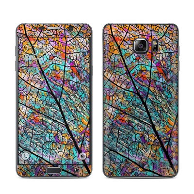 Samsung Galaxy Note 5 Skin - Stained Aspen