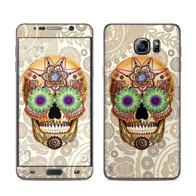 Samsung Galaxy Note 5 Skin - Sugar Skull Bone