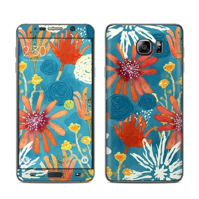 Samsung Galaxy Note 5 Skin - Sunbaked Blooms