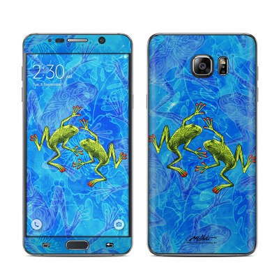 Samsung Galaxy Note 5 Skin - Tiger Frogs