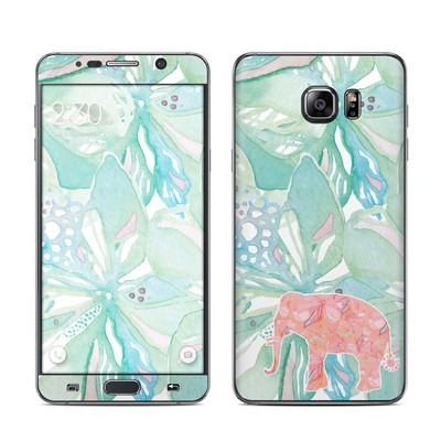 Samsung Galaxy Note 5 Skin - Tropical Elephant