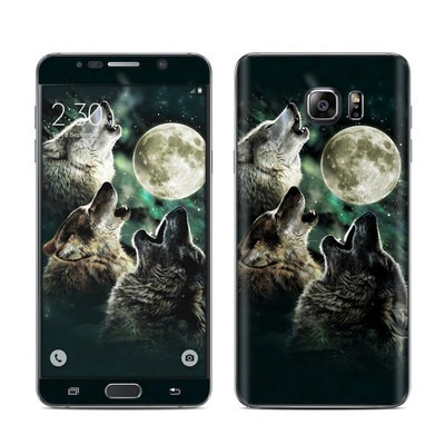Samsung Galaxy Note 5 Skin - Three Wolf Moon