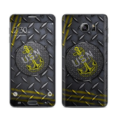 Samsung Galaxy Note 5 Skin - USN Diamond Plate