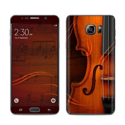 Samsung Galaxy Note 5 Skin - Violin