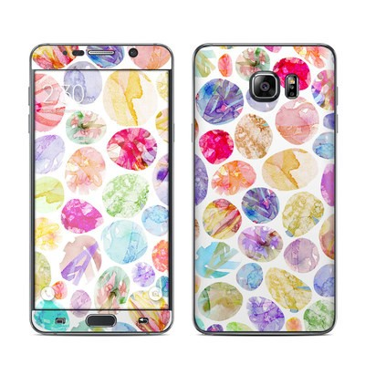 Samsung Galaxy Note 5 Skin - Watercolor Dots