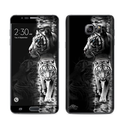 Samsung Galaxy Note 5 Skin - White Tiger
