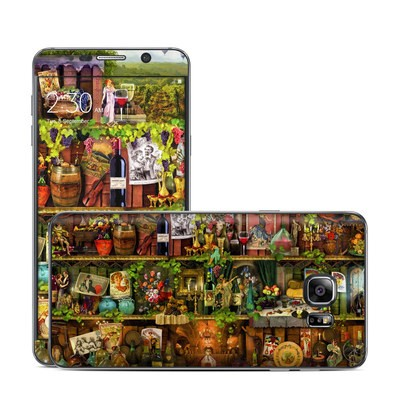 Samsung Galaxy Note 5 Skin - Wine Shelf
