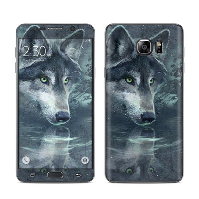 Samsung Galaxy Note 5 Skin - Wolf Reflection