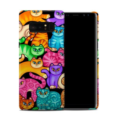 Samsung Galaxy Note 8 Clip Case - Colorful Kittens