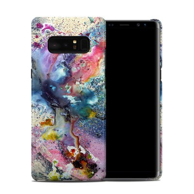 Samsung Galaxy Note 8 Clip Case - Cosmic Flower
