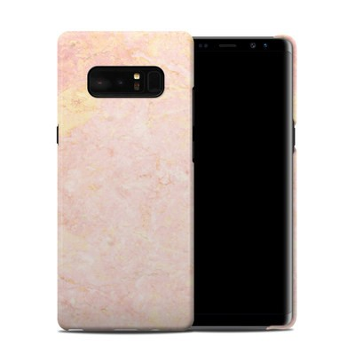 Samsung Galaxy Note 8 Clip Case - Rose Gold Marble