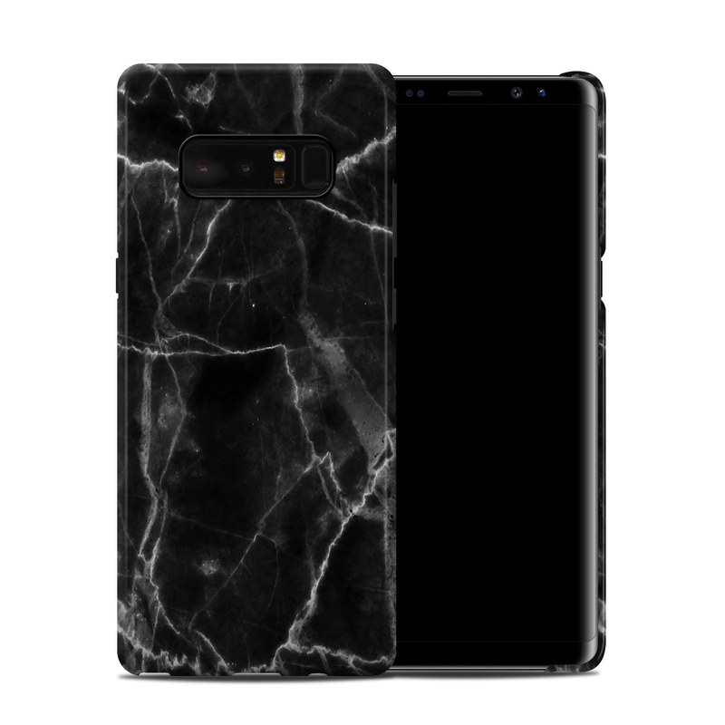 Samsung Galaxy Note 8 Clip Case Black Marble By Marble