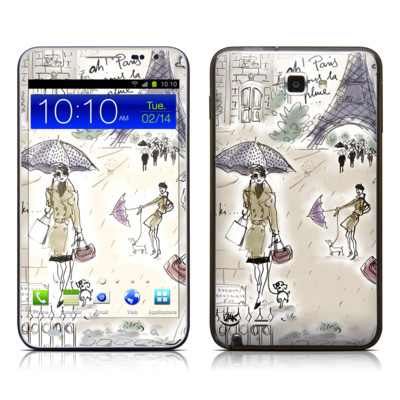 Samsung Galaxy Note LTE Skin - Ah Paris