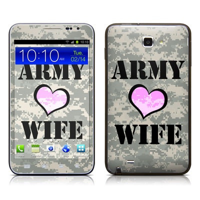 Samsung Galaxy Note LTE Skin - Army Wife