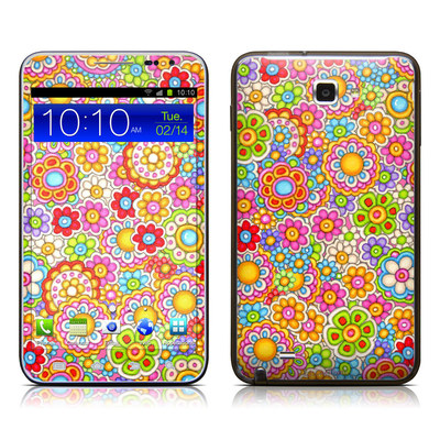 Samsung Galaxy Note LTE Skin - Bright Ditzy