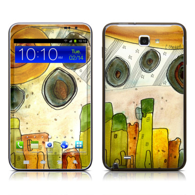 Samsung Galaxy Note LTE Skin - City Life