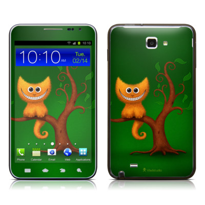 Samsung Galaxy Note LTE Skin - Cheshire Kitten