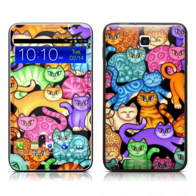 Samsung Galaxy Note LTE Skin - Colorful Kittens