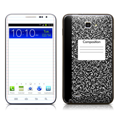 Samsung Galaxy Note LTE Skin - Composition Notebook