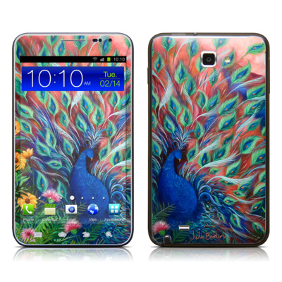 Samsung Galaxy Note LTE Skin - Coral Peacock