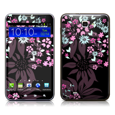 Samsung Galaxy Note LTE Skin - Dark Flowers