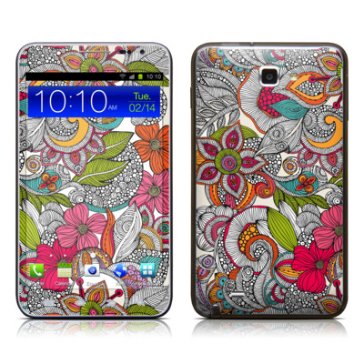 Samsung Galaxy Note LTE Skin - Doodles Color