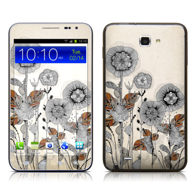 Samsung Galaxy Note LTE Skin - Four Flowers
