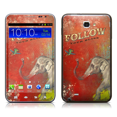 Samsung Galaxy Note LTE Skin - Follow Your Bliss