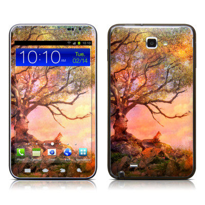 Samsung Galaxy Note LTE Skin - Fox Sunset