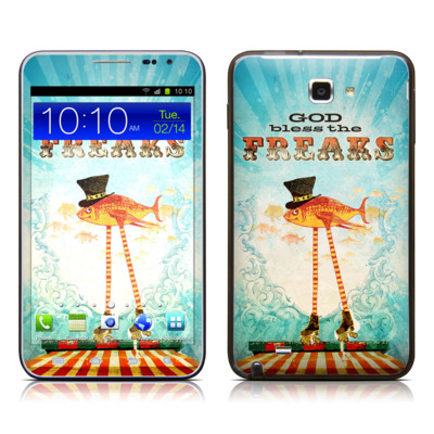Samsung Galaxy Note LTE Skin - God Bless The Freaks