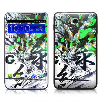 Samsung Galaxy Note LTE Skin - Green 1