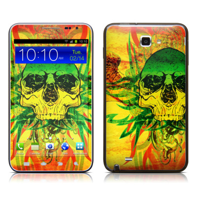 Samsung Galaxy Note LTE Skin - Hot Tribal Skull
