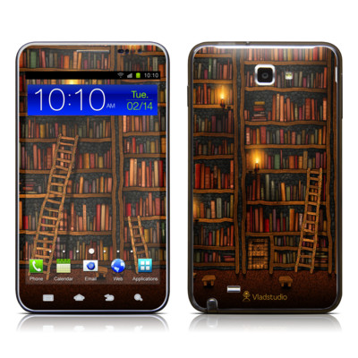 Samsung Galaxy Note LTE Skin - Library