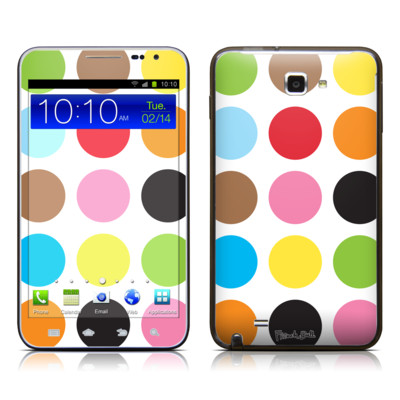 Samsung Galaxy Note LTE Skin - Multidot