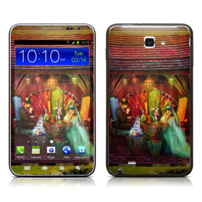 Samsung Galaxy Note LTE Skin - A Mad Tea Party