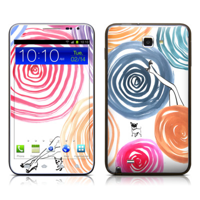 Samsung Galaxy Note LTE Skin - New Circle