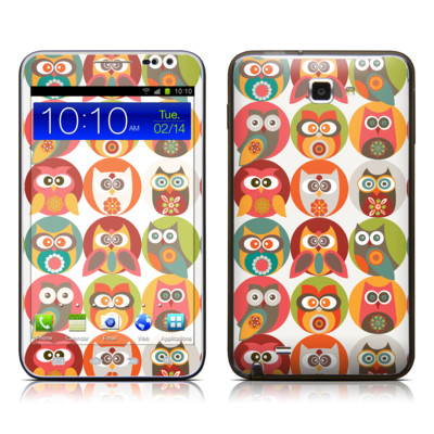 Samsung Galaxy Note LTE Skin - Owls Family