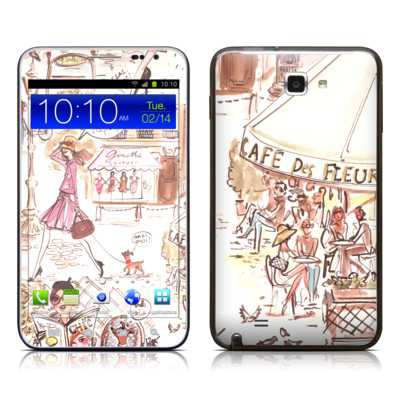 Samsung Galaxy Note LTE Skin - Paris Makes Me Happy
